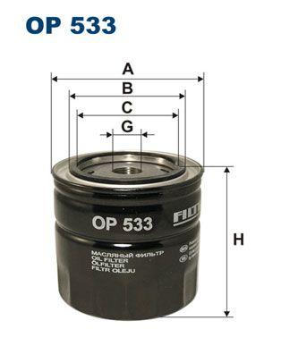 Original SAAB Motorölfilter OP 533