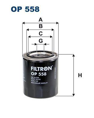 FILTRON Oil Filter OP 558