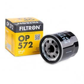 OP 572 FILTRON mit einem Rücklaufsperrventil Innendurchmesser 2: 62mm, Innendurchmesser 2: 55mm, Ø: 69mm, Höhe: 73mm Ölfilter OP 572 günstig kaufen