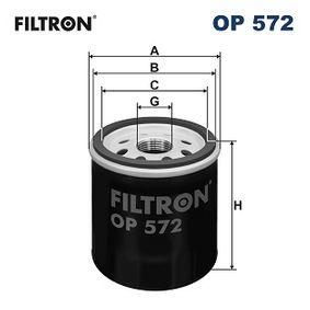 OP572 Ölfilter FILTRON Erfahrung