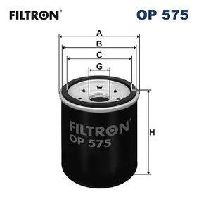 OP575 Ölfilter FILTRON Erfahrung