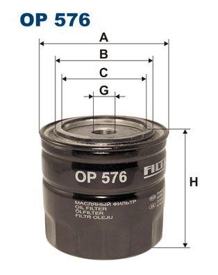 OP 576 FILTRON Ölfilter für SCANIA L - series jetzt kaufen