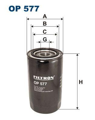 OP 577 FILTRON Filtre à huile pour VOLVO N 7 - à acheter dès maintenant