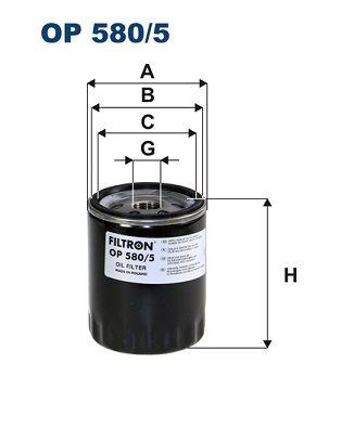 FILTRON Ölfilter OP 580/5