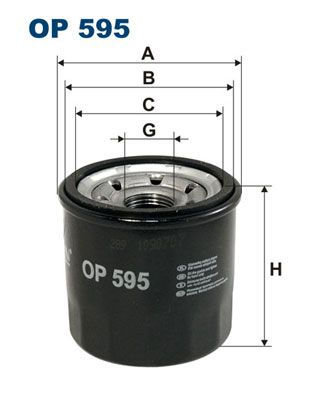 OP595 Oil Filter FILTRON - Experience and discount prices