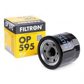 OP 595 FILTRON mit einem Rücklaufsperrventil Innendurchmesser 2: 64mm, Innendurchmesser 2: 56mm, Ø: 69mm, Höhe: 65mm Ölfilter OP 595 günstig kaufen