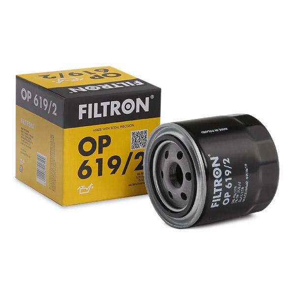 OP 619/2 FILTRON Anschraubfilter Innendurchmesser 2: 79mm, Innendurchmesser 2: 71mm, Ø: 102mm, Höhe: 103mm Ölfilter OP 619/2 günstig kaufen