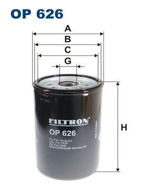 OP 626 FILTRON Filtr oleju do MAN CLA - kup teraz
