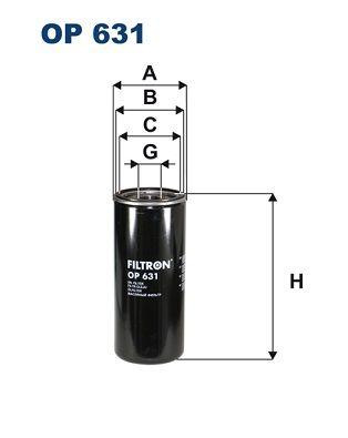 FILTRON Oil Filter for IVECO - item number: OP 631