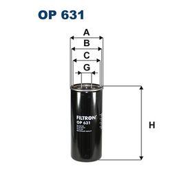 FILTRON Oljefilter OP 631 - köp med 15% rabatt