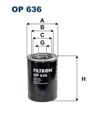FILTRON Ölfilter OP 636