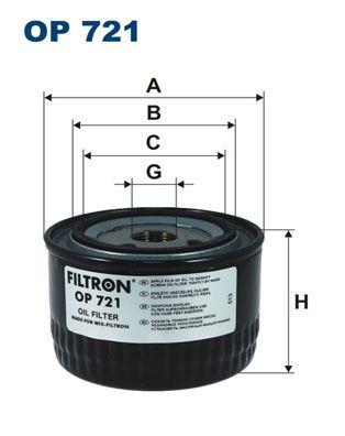 FILTRON Filtro idraulico, Cambio automatico OP 721 acquisti con uno sconto del 15%