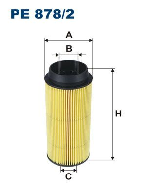 FILTRON Filtr paliwa Wkład filtra PE 878/2 YAMAHA
