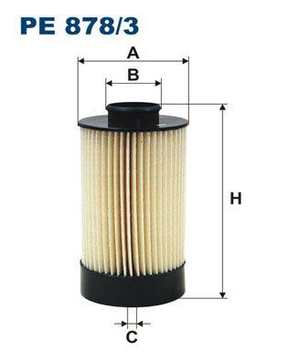 FILTRON Filtr paliwa Wkład filtra PE 878/3 YAMAHA