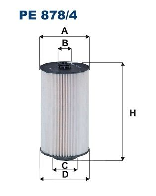 PE 878/4 FILTRON Fuel filter for IVECO X-WAY - buy now