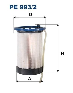 Skoda SUPERB FILTRON Palivový filtr PE 993/2