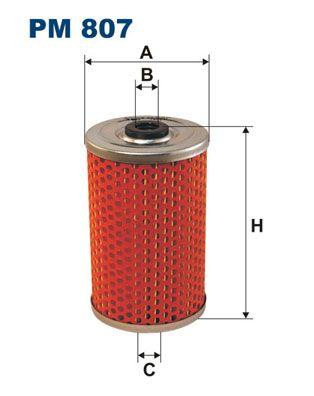 FILTRON Kütusefilter PM 807