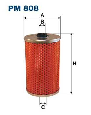 PM 808 FILTRON Kraftstofffilter für SCANIA L - series jetzt kaufen