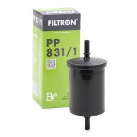 PP 831/1 FILTRON Filtr przewodowy Wys.: 138[mm] Filtr paliwa PP 831/1 kupić niedrogo