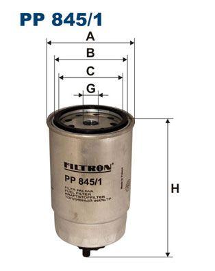 PP 845/1 FILTRON Kraftstofffilter für FORD online bestellen