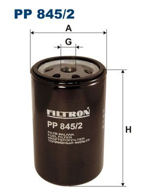 PP 845/2 FILTRON Fuel filter for IVECO TurboStar - buy now
