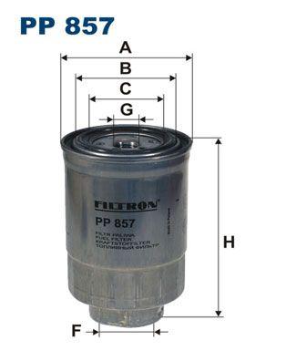 PP 857 FILTRON Kraftstofffilter für FORD online bestellen