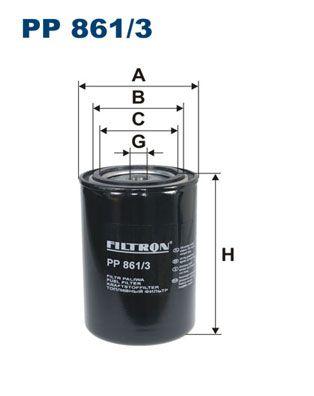 PP 861/3 FILTRON Kraftstofffilter für DAF 75 jetzt kaufen