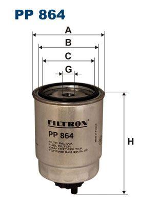 Original ROVER Kraftstofffilter PP 864