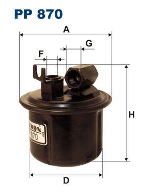 Original ROVER Spritfilter PP 870