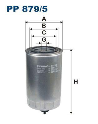 PP 879/5 FILTRON Brændstof-filter til IVECO Stralis - køb nu