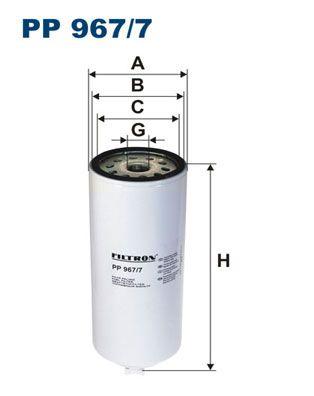 PP 967/7 FILTRON Kraftstofffilter für FORD online bestellen