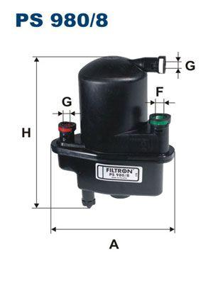 PS 980/8 Kraftstofffilter FILTRON Test