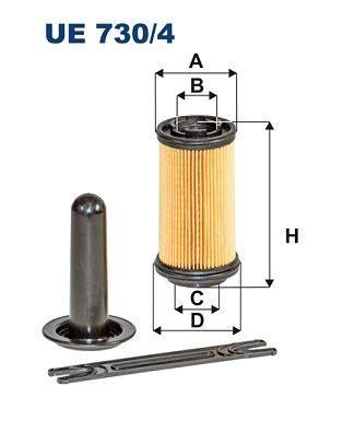 FILTRON Urea Filter for RENAULT TRUCKS - item number: UE 730/4