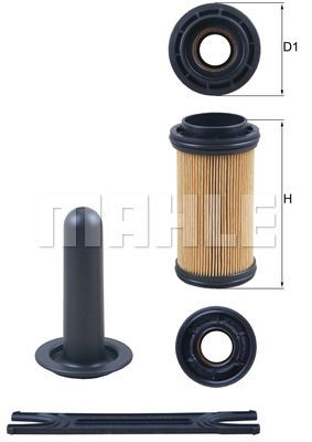 MAHLE ORIGINAL Urea Filter for NISSAN - item number: UX 11KIT