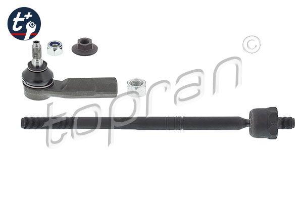 Volkswagen PASSAT 2017 Steering track rod TOPRAN 117 893: Left, with nut