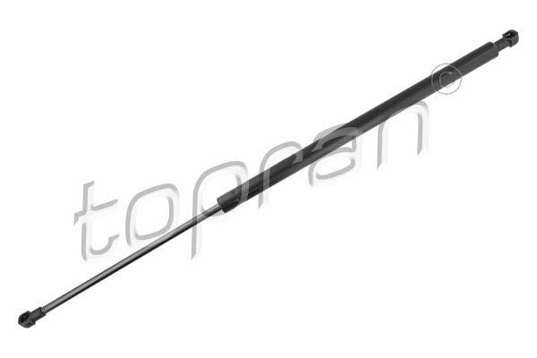 NISSAN X-TRAIL 2018 Dämpfer Heckklappe - Original TOPRAN 701 602 Länge: 580mm, Hub: 215mm