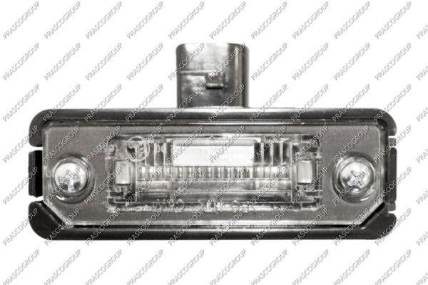 Luci targa bianche VG0344350 PRASCO — Solo ricambi nuovi