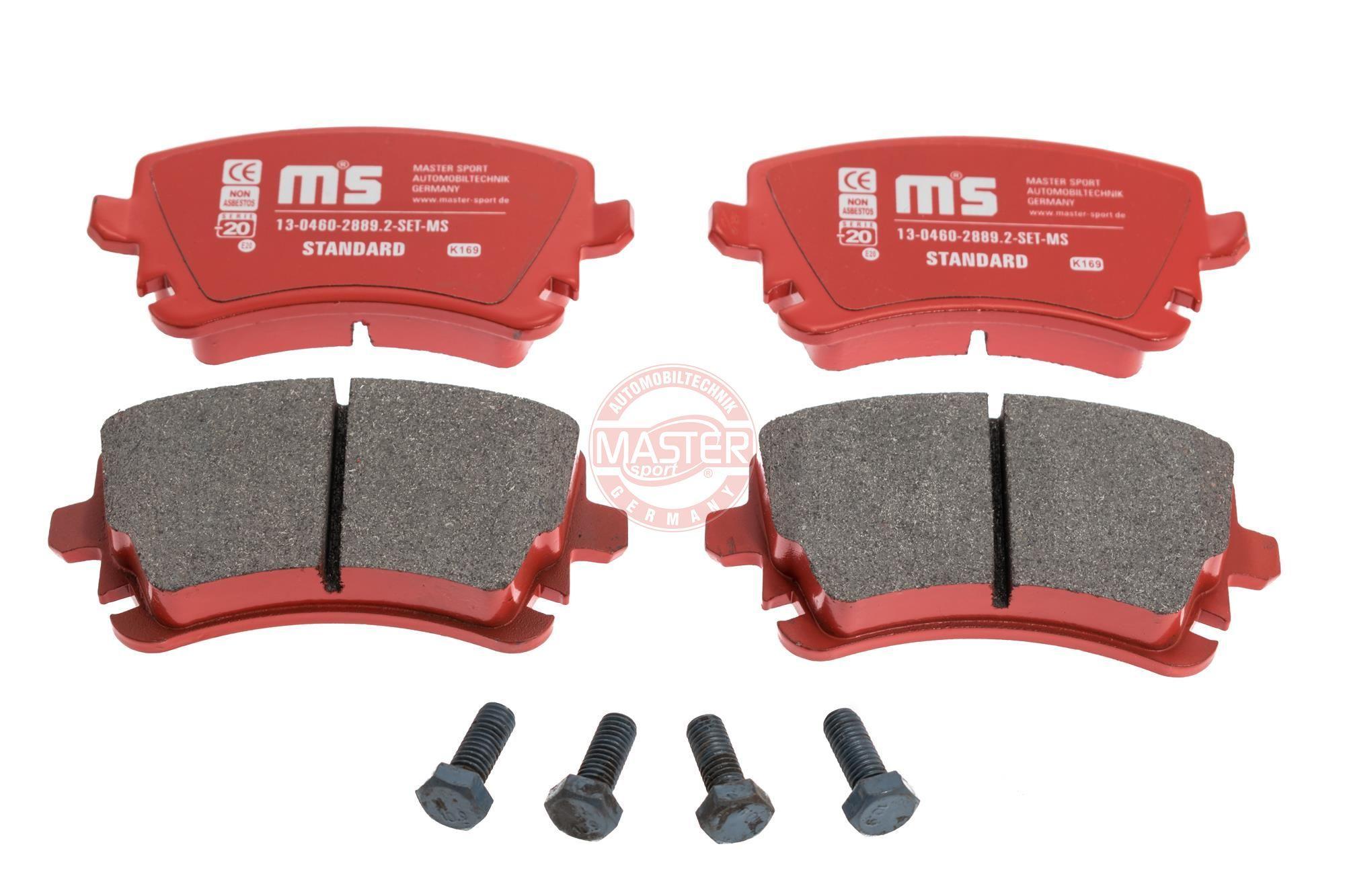 Bremsbelagsatz MASTER-SPORT 13046028892-SET-MS