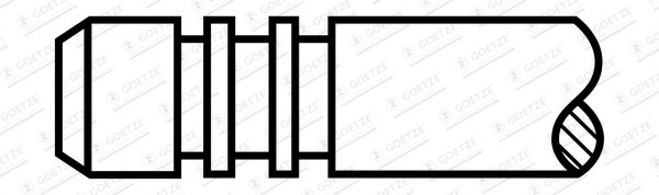 Original MINI Einlaßventil 90-261128-00