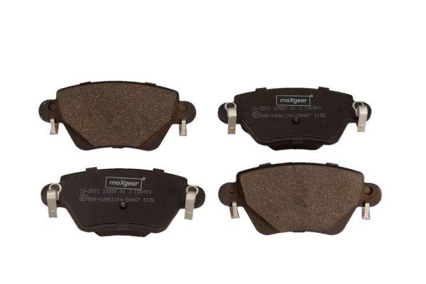 19-3371 MAXGEAR mit akustischer Verschleißwarnung, mit Bremssattelschrauben, mit Zubehör Höhe: 51,9mm, Dicke/Stärke: 16,8mm Bremsbelagsatz, Scheibenbremse 19-3371 günstig kaufen