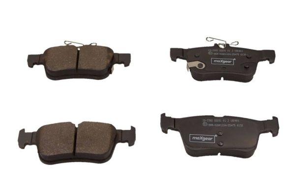 Bremsbelagsatz MAXGEAR 19-3382
