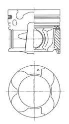 KOLBENSCHMIDT: Original Motor Kolben 41709600 ()