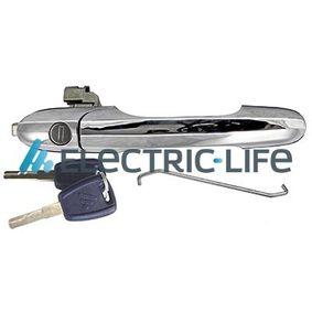 ZR80605 ELECTRIC LIFE links, ohne Schließzylinder, verchromt Türgriff ZR80605 günstig kaufen