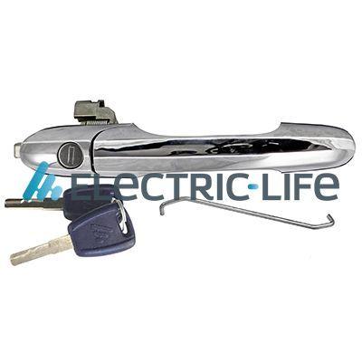 ZR80607 ELECTRIC LIFE links, mit Schlüssel, verchromt Türgriff ZR80607 günstig kaufen