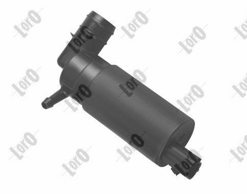 ABAKUS: Original Waschwasserpumpe Scheibenreinigung 103-02-007 (Pol-Anzahl: 2-polig)