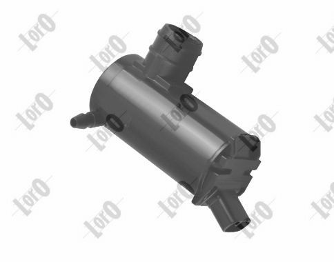 ABAKUS: Original Wischwasserpumpe 103-02-009 (Pol-Anzahl: 2-polig)