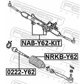 NABY62KIT Lagerung, Lenkgetriebe FEBEST NAB-Y62-KIT - Große Auswahl - stark reduziert