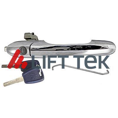 LT80606 LIFT-TEK rechts, mit Schlüssel, verchromt Türgriff LT80606 günstig kaufen