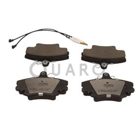 QP0910C QUARO inkl. Verschleißwarnkontakt Höhe: 64,8mm, Breite: 100,1mm, Dicke/Stärke: 18,2mm Bremsbelagsatz, Scheibenbremse QP0910C günstig kaufen