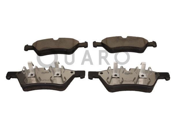QP3845C QUARO für Verschleißwarnanzeiger vorbereitet Höhe 1: 69,8mm, Höhe 2: 69,9mm, Breite 1: 193,3mm, Breite 2: 194,5mm, Dicke/Stärke: 21mm Bremsbelagsatz, Scheibenbremse QP3845C günstig kaufen